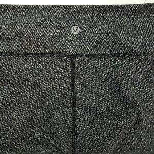 lululemon athletica Pants - Lululemon Wunder Under Pant Heathered Herringbone